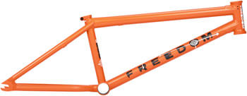 "BSD Freedom BMX Frame - 20.8"" TT, Lava Orange"