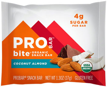 ProBar Bite Bar: Coconut Almond, 1.3oz, Box of 12