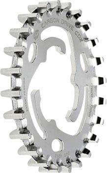 Gates Carbon Drive CDX CenterTrack Rear Sprocket: 24 tooth, SureFit, compatible with Nexus/Alfine