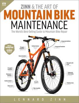 Velo Press Zinn and the Art of Mountain Bike Maintenance 6th Edition
