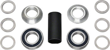 Profile Racing Spanish Bottom Bracket Set Silver (no Spindle)