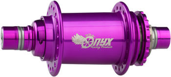 "Onyx Pro BMX Rear Hub: 3/8"", 36 Hole, Purple Anodized"