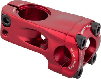 Promax Banger 48mm Front Load Stem +/- 0 Degree Red