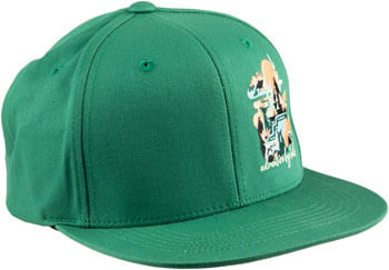 Salsa Meander Trucker Hat - Forest Green, Black, Green, Blue, Red-Orange, One Size