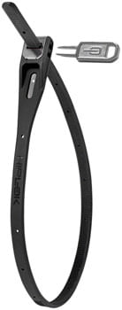 Hiplok Z-Lok Security Tie Lock Single: Black