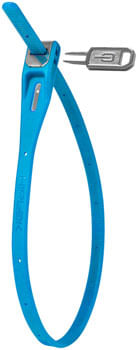 Hiplok Z-Lok Security Tie Lock Single: Cyan