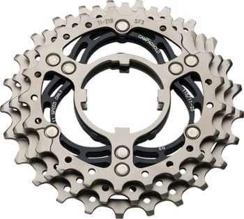 Campagnolo 11-Speed 21,23,25 Titanium Sprocket Carrier Assembly A for 12-25 Cassettes