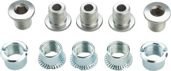 Shimano Sora FC-R3030-CG (chainring guard model) Outer/Middle Chainring Bolts Set of 10