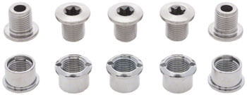 Shimano 105 FC-5700 Double Chainring Bolt Set of 10