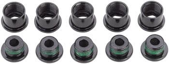 SRAM Crank Chainring Bolt Kit - 5-Arm, Steel, Black