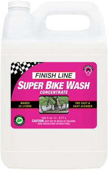 Finish Line Super Bike Wash Cleaner Concentrate - 1 Gallon (Makes 8 Gallons)
