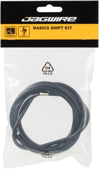 Jagwire Basics Shift Cable and Housing Assembly, 1780mm Shimano/SRAM Huret/Suntour X-Press, Black