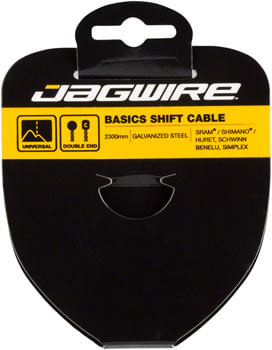 Jagwire Basics Derailleur Cable Galvanized 1.2x2300mm Shimano/SRAM, Huret, Suntour X-Press