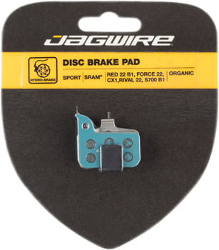 Jagwire Sport Organic Disc Brake Pads for SRAM Red 22 B1, Force 22, CX1, Rival 22, S700 B1, Level Ultimate