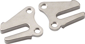 Surly MDS Chips: 10mm Axle Horizontal Dropout, Stainless Steel, Single Speed, Pair