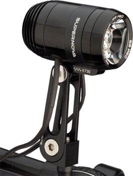 Supernova E3 Pro 2 Headlight with Multi-mount: Black