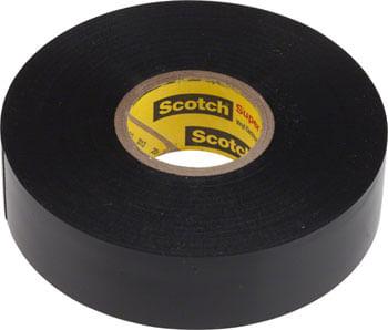 """3M Scotch Electrical Tape Super #33+ 3/4"""" x 66' Black"""
