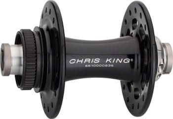 Chris King R45D Front Hub - 12 x 100mm, Center-Lock, Black, 32h