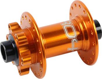 Hope Pro 4 Front Hub - 15 x 100mm, 6-Bolt, Orange, 32h