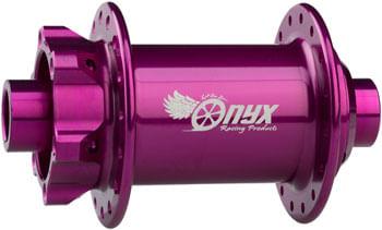 Onyx MTB Front Hub - 15 x 110mm Boost, 6-Bolt, Purple