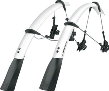 SKS Raceblade Pro Fender Set, 700 x 18-25: White