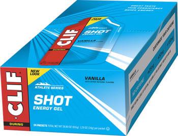 Clif Shot Gel: Vanilla 24-Pack