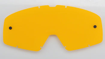 Fox Racing Main Replacement Lens: Yellow One Size