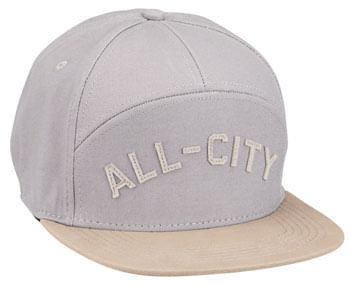 All-City Damn Fine Chome Dome Cap - Charcoal, Khaki