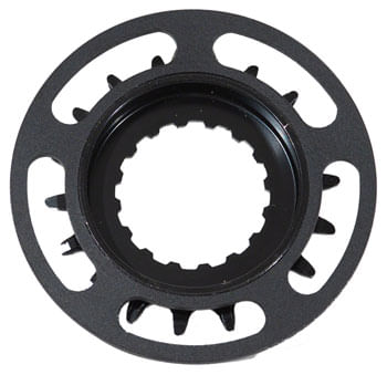 Samox Bosch GEN 2 Steel CNC Chainring with Single Chainguide - 18t, Black
