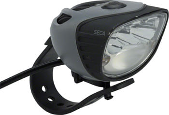 Light and Motion Seca 1800 eBike Headlight: Black