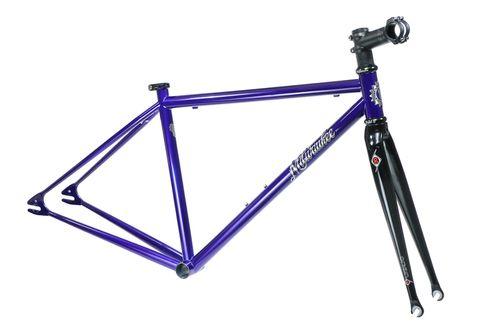 Milwaukee Bicycle Co. Orange One Frameset - 50cm - Intense Blue - Blem