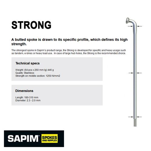 Sapim Strong Spokes