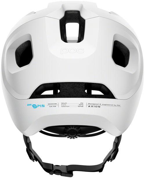 POC Axion Spin Helmet - Matte White, Medium/Large