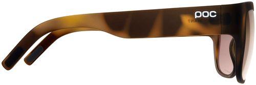 POC Want Sunglasses - Tortoise Brown, Brown/Silver-Mirror Lens