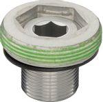 SRAM-Truvativ-GXP-M15-Crank-Bolt-and-M26-Cap-Silver-CR2193-5