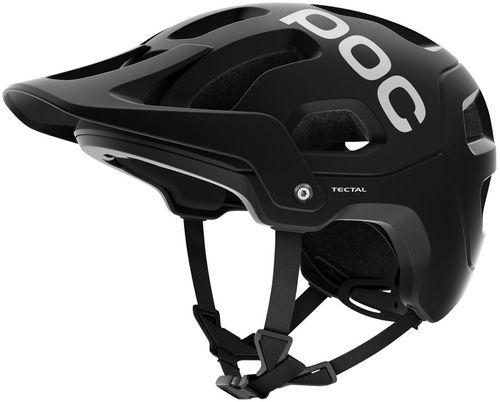POC Tectal Helmet - Uranium Black, Medium/Large