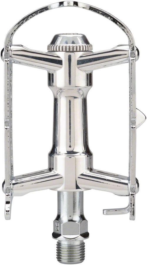 """MKS Sylvan Road Next Pedals -Platform, Aluminum, 9/16"""", Silver"""