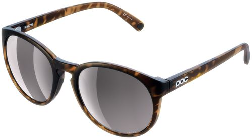 POC Know Sunglasses - Tortoise Brown, Violet/Silver-Mirror Lens
