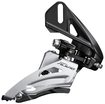 Shimano Alivio FD-M3120-D Front Derailleur - 2x9-Speed, Side Swing, Front Pull, Direct Mount, 36t Max