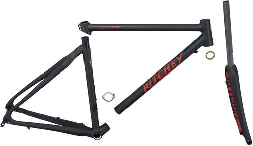 Ritchey Outback Break-Away Frameset - 700c, Carbon, Black, Small