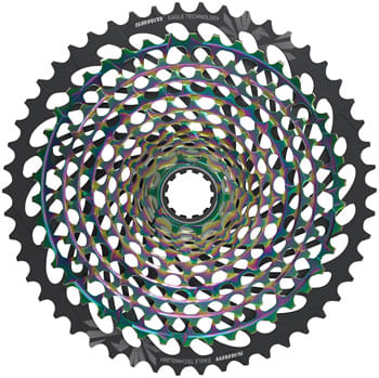 SRAM XX1 Eagle AXS XG-1299 Cassette - 12-Speed, 10-50t, Rainbow, For XD Driver Body