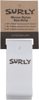 Surly Rim Strip: For Marge Lite / Rolling Darryl, Nylon, 45mm wide, White