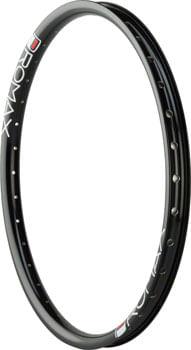 "Promax BMX RMV TR Rim - 20"", Black, 36H, Front"