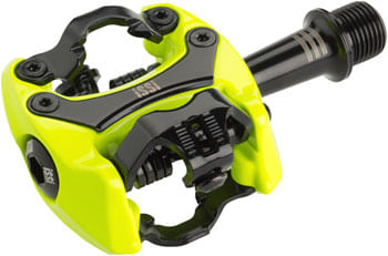 "iSSi Flash III Pedals - Dual Sided Clipless, Aluminum, 9/16"", Yellow"