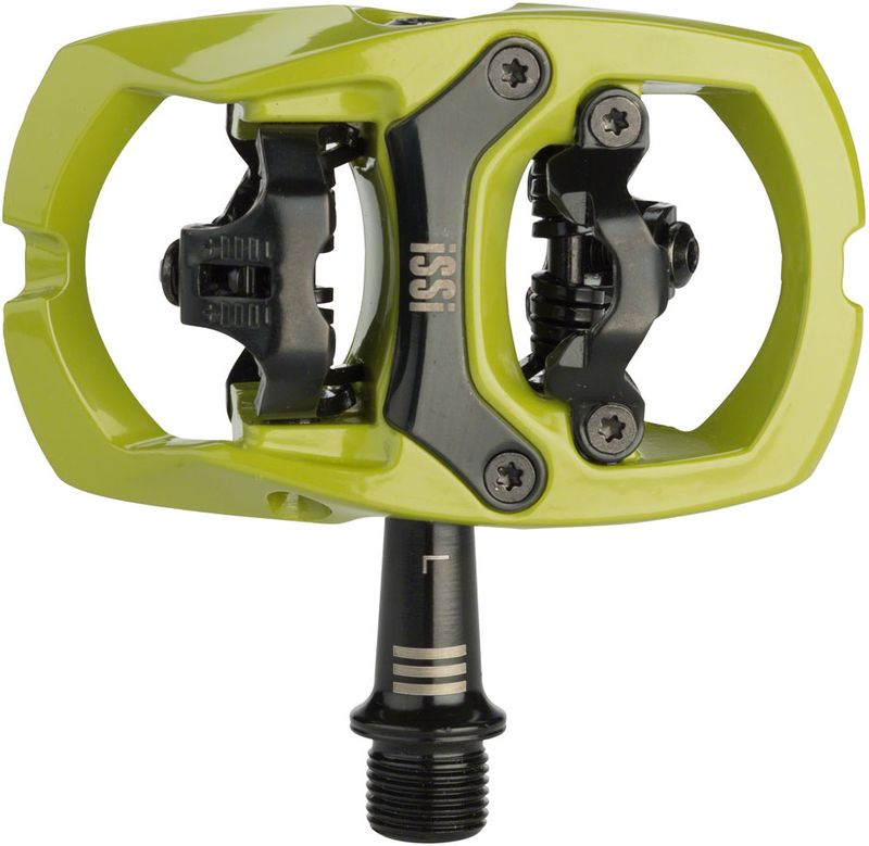 iSSi-Trail-III-Pedals---Dual-Sided-Clipless-with-Platform-Aluminum-9-16--Army-Green-PD2861-5