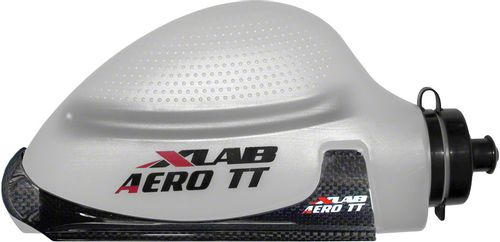 XLAB Aero TT Water Bottle and Cage System: Gloss Black