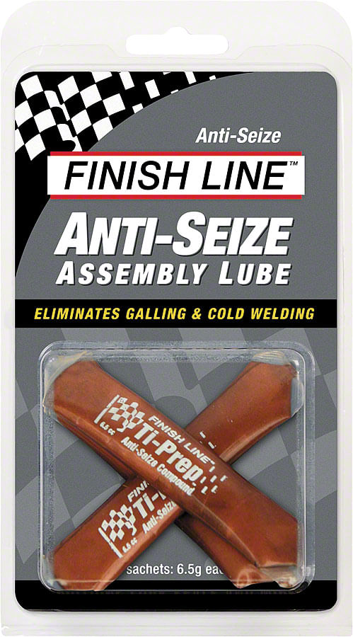 Finish Line Anti-Seize Assembly Lube, 3 x 6.5cc Sachets