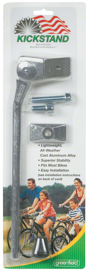 Greenfield 285mm KS2 Kickstand: Silver