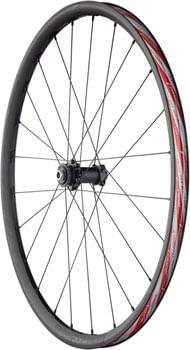 Fulcrum Rapid Red 3 DB Front Wheel - 650, 12/15 x 100mm, Center-Lock, Black