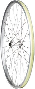 Quality Wheels Value HD Series Front Wheel - 700, QR x 100mm, Rim Brake, Silver, Clincher